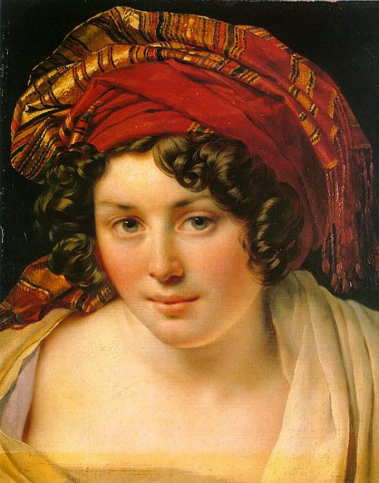 Girodet - Trioson, Anne - Louis (French, 1767 - 1824) 2. French artists