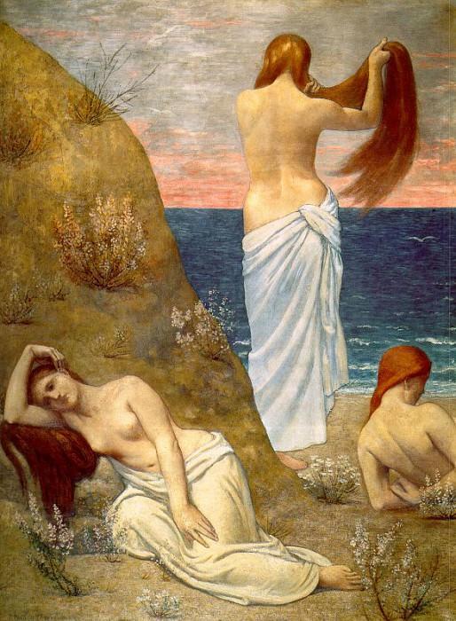 Пьер Пюви де Шаванн (1824-1898) #3. Французские художники