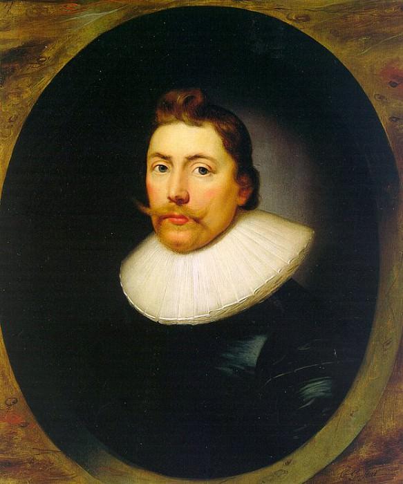 Корнелиус Джонсон (1593-1661). Французские художники