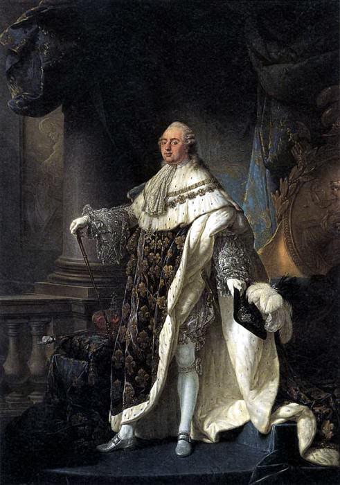 CALLET Antoine Francois Portrait Of Louis XVI. French artists