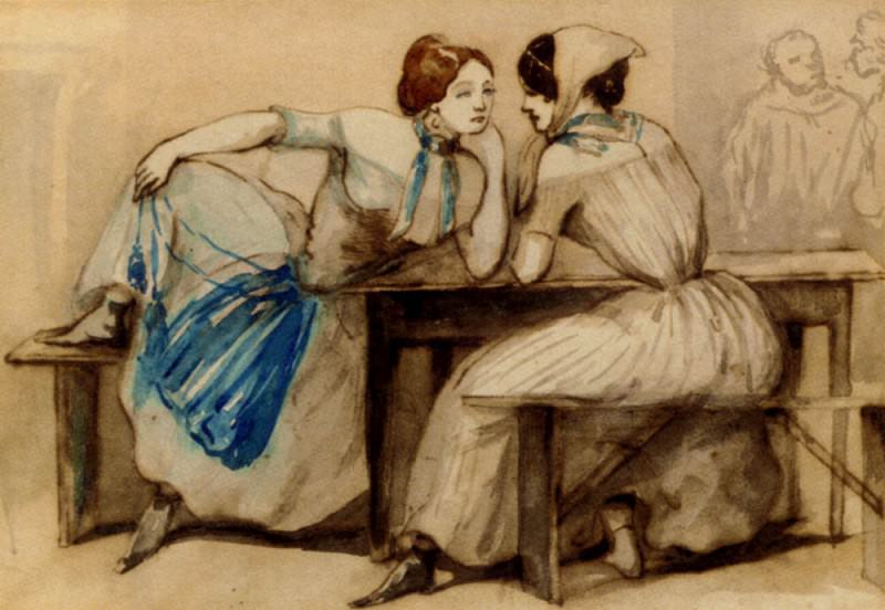 Guys Constantin The Confidantes. French artists