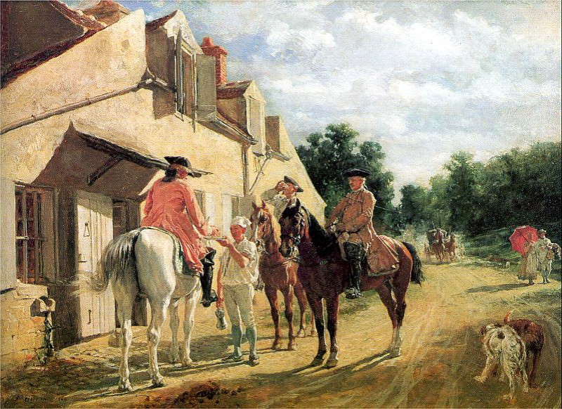 Meissonier, Ernest (French, 1815-1891) 3. French artists