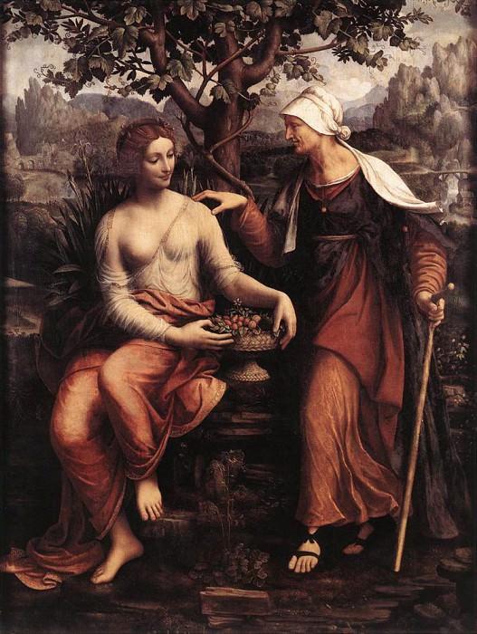 MELZI Francesco Pomona And Vertumnus. French artists