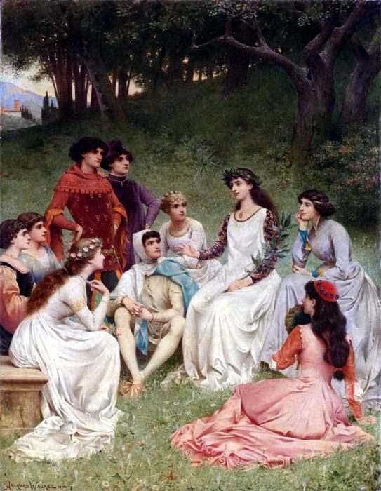 Wagrez Jacques Clement The Storyteller. French artists