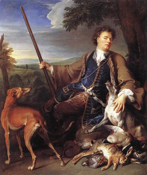 Self Portrait as a Huntsman. French artists