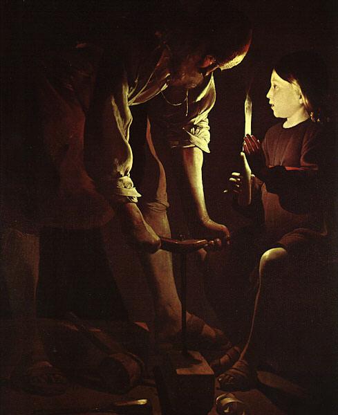 Tour, Georges de La (French, 1593-1652) latour1. French artists