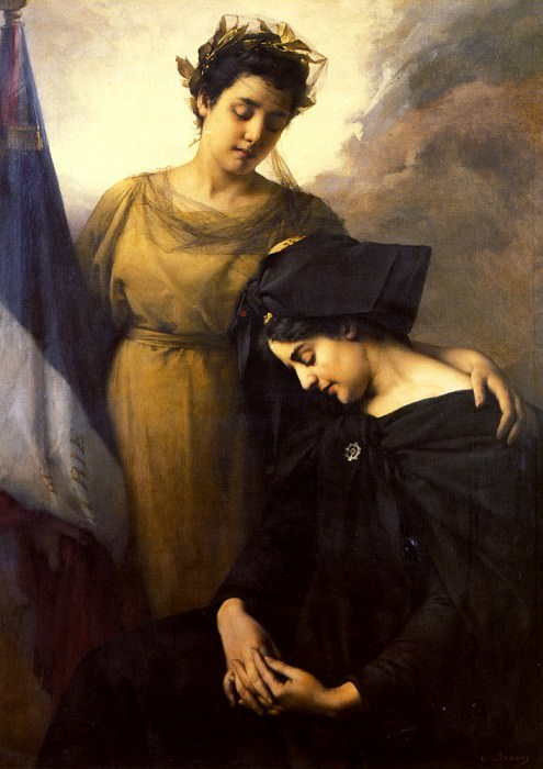 The Loss of Alsace Lorraine. French artists