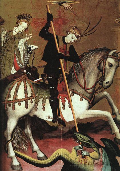 Андре Марсаль де Саксе (конец 14 в. - начало 15 в.). Французские художники