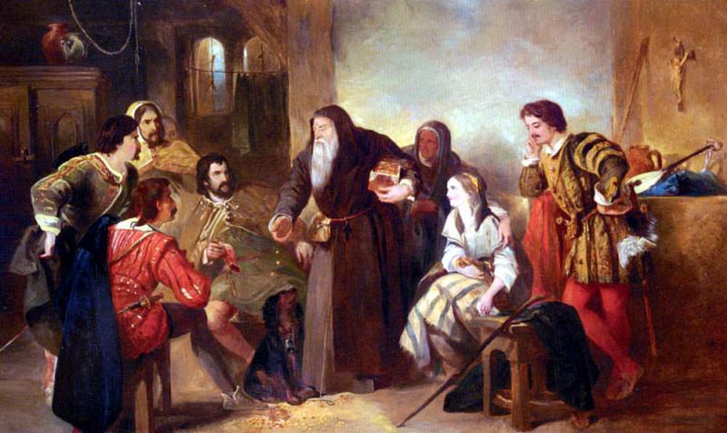 Gilbert Sir John The Beggar Of Bethnal Green. French artists