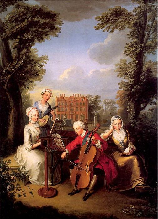 Мерсье, Филипп (1689-1760) #2. Французские художники