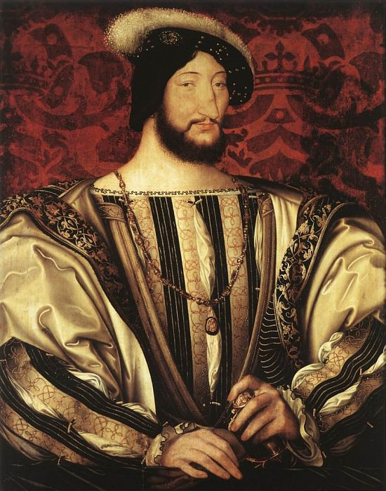 CLOUET Jean Portrait of Francois I King of France. French artists