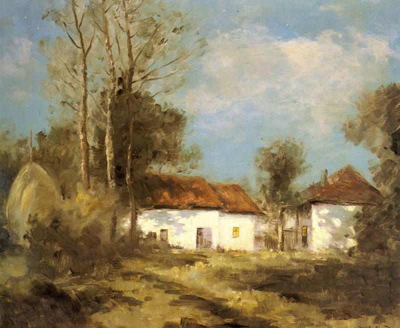 Cachoud Francois Charles Claire De Lune Savoie. French artists