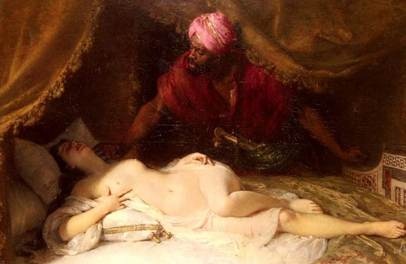 Вейс, Адольф - Отелло и Дездемона. Французские художники