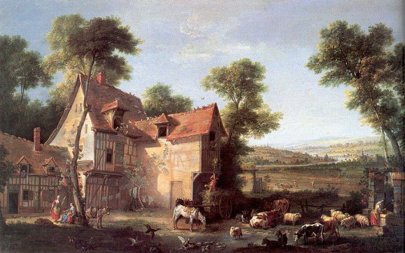 Oudry, Jean - Baptiste (French, 1686-1755) 1. French artists