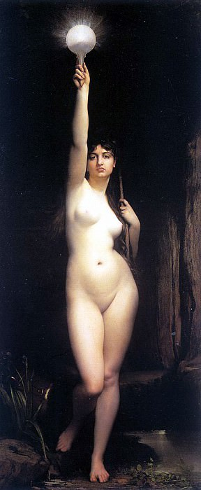 Lefebvre, Jules Joseph (French, 1834-1912) 1. French artists