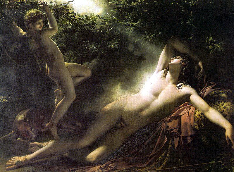 Girodet - Trioson, Anne - Louis (French, 1767-1824) 3. French artists