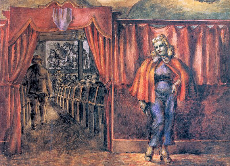 Marsh, Reginald (American, born in Paris, 1898-1954) 1. French artists