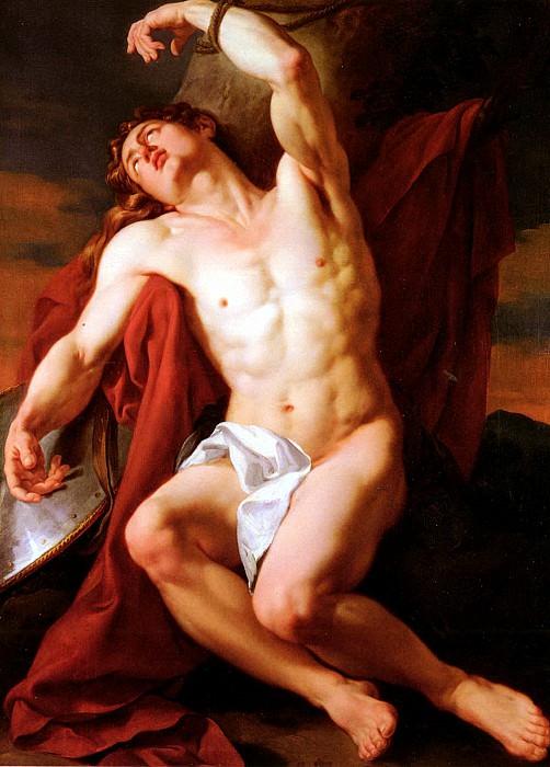 Menageot Francois Guillaume Le Martyre De Saint - Sebastien. French artists