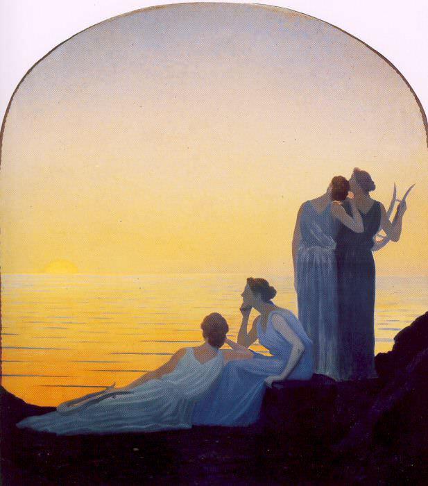 Осбер, Альфонс (1857-1939) #1. Французские художники