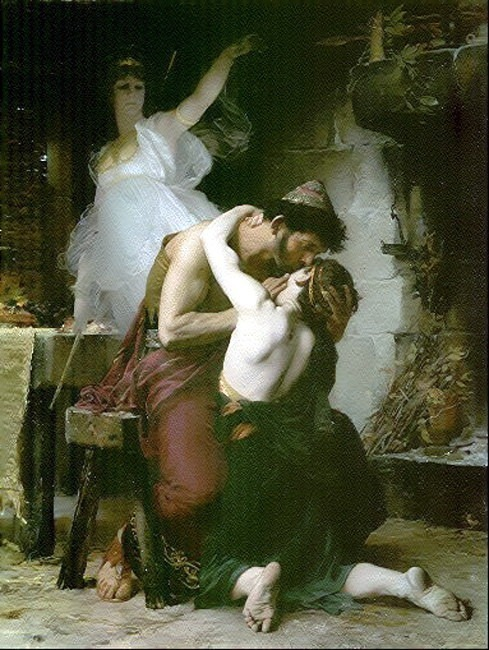 Doucet Lucien Reunion of Odysseus and Telemachus. French artists