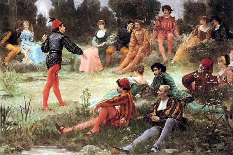 Garnier Jules Arsene The Performance. French artists