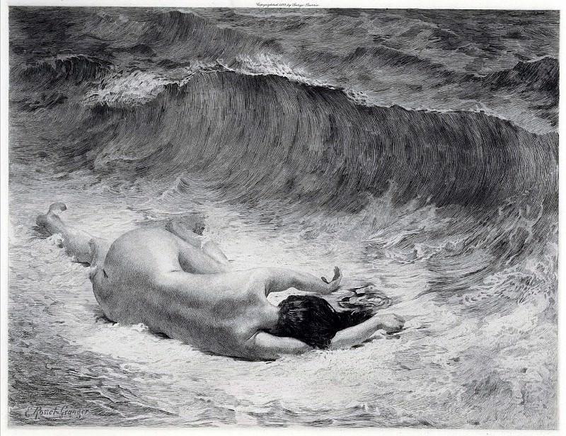 Россе-Гранже, Эдуар - Утонувшая. Французские художники