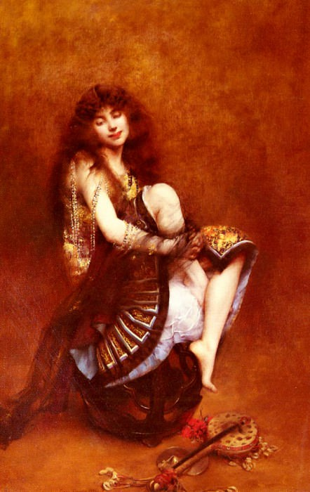 Courtois Gustave Claude Etienne La Bayadere. French artists