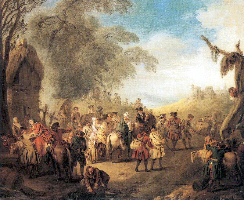 Патэр, Жан-Батист (1695-1736) #3. Французские художники