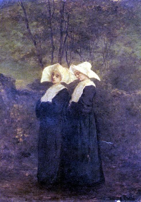 Готье, Арман - Монахини. Французские художники