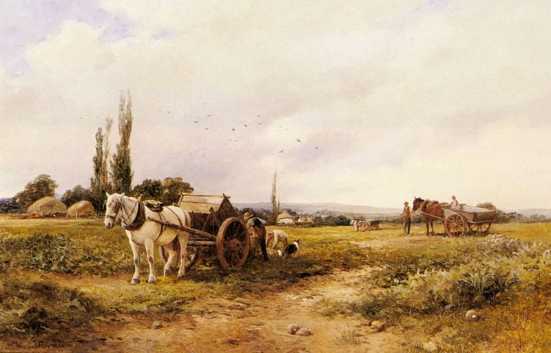 Bates David In The Mangel Field. French artists