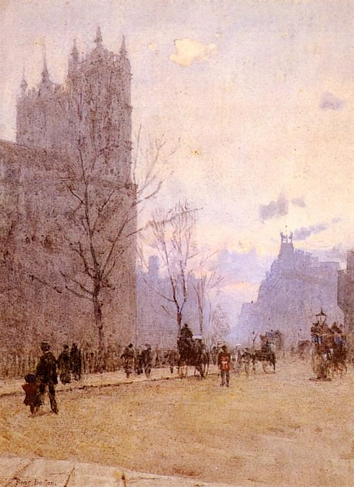 Barton Rose Maynard Westminister Abbey. French artists