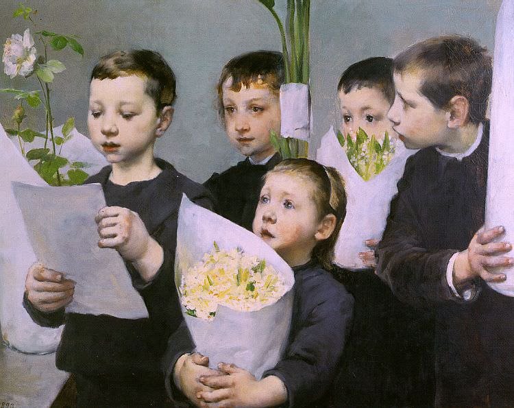 Geo (Henri - Jules - Jean Geoffroy, French, 1853-1924). French artists