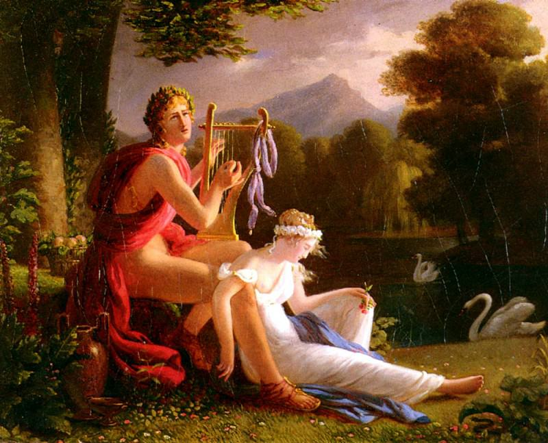Ducis Louis Orphee Et Euridice. French artists