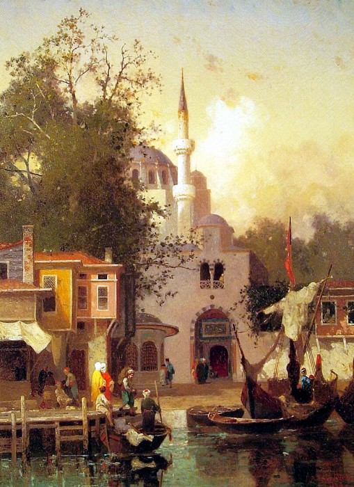 Constantinople. French artists