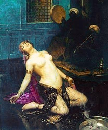 Геди, Гастон - Танцовщица гарема. Французские художники