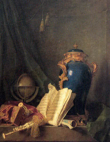 Анри-Орас Ролан де ла Порте (1724-93). Французские художники
