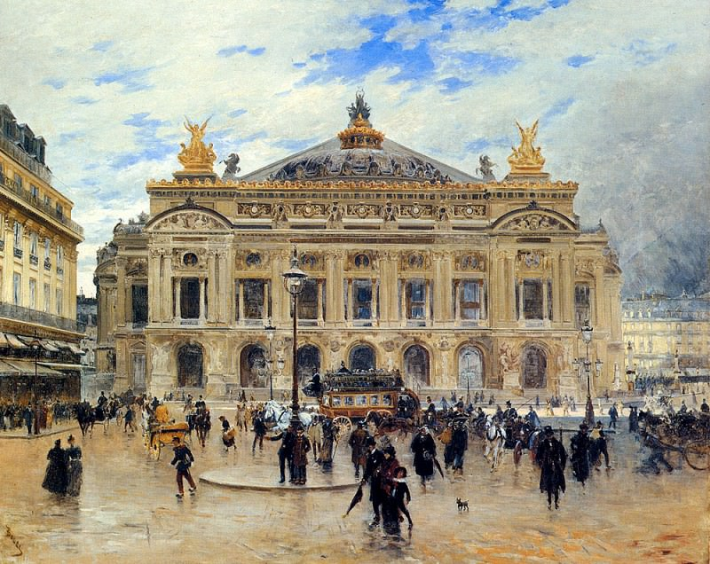 Boggs Frank Myers Grand Opera House Paris. French artists