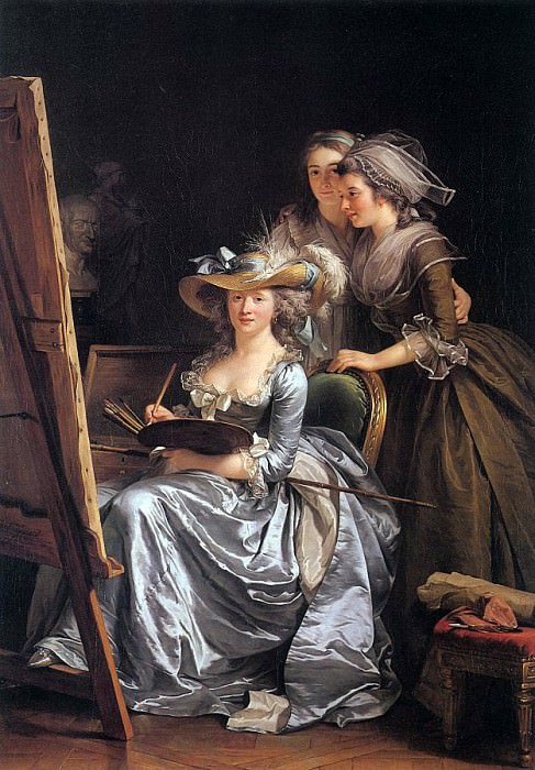Labille - Guiard, Adelaide (French, 1749-1803). French artists