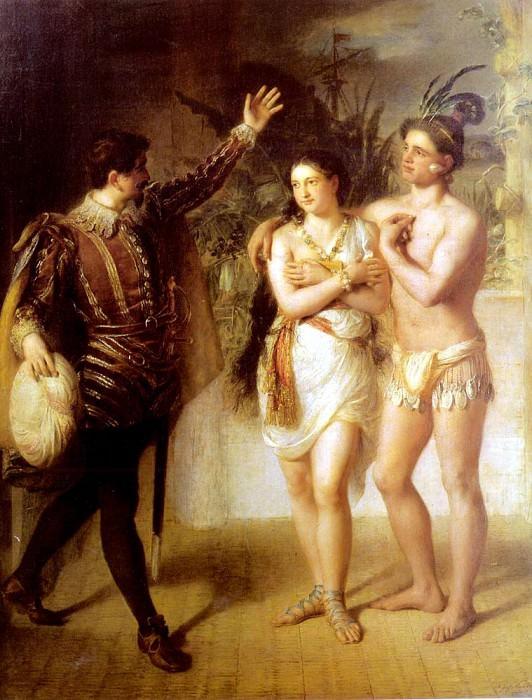 Рейтер, Жозеф - Поль и Виржиния. Французские художники