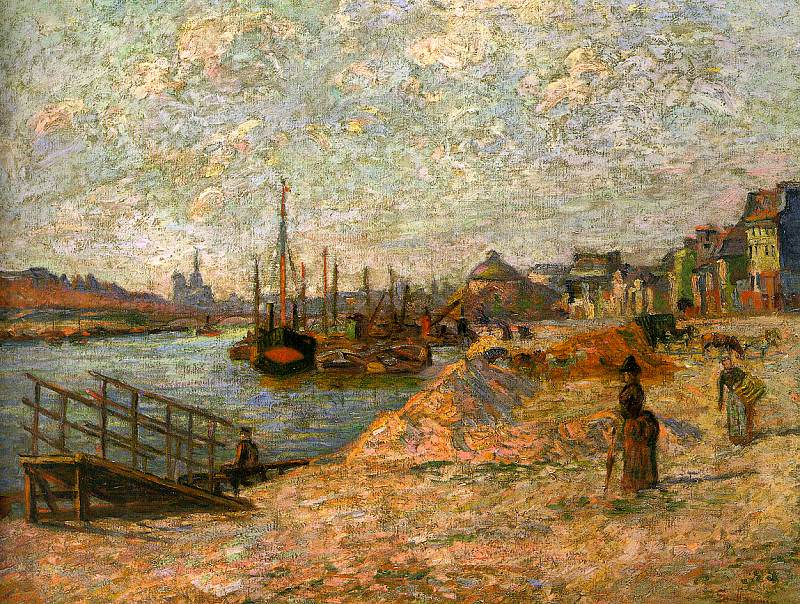 Guillaumin, J B Armand (French, 1841-1927) 3. French artists