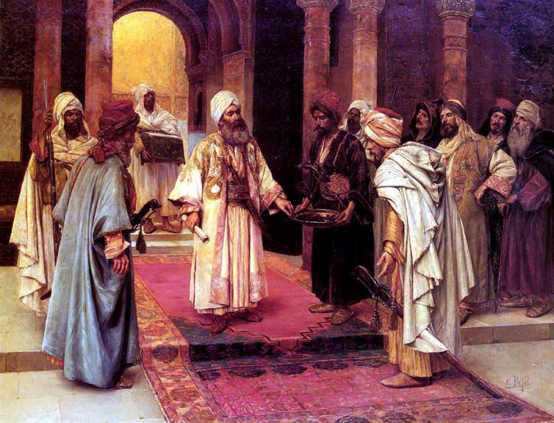 Guastavino Clement Pujol de Le Visiteur Honore. French artists