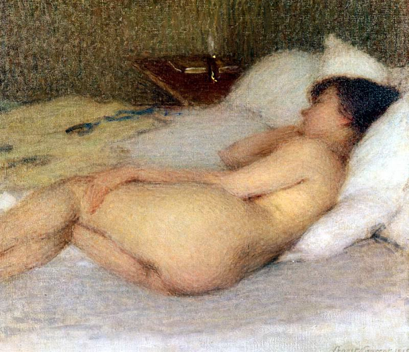 Laurent Ernest Joseph Femme Nue. French artists