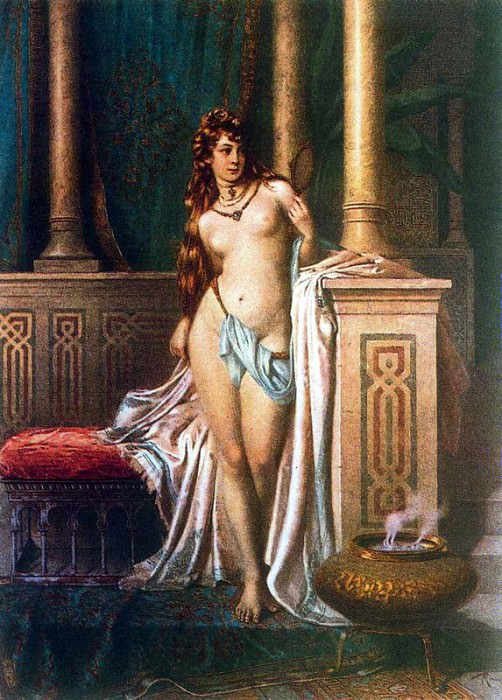 Ballesio Francesco Toilette. French artists