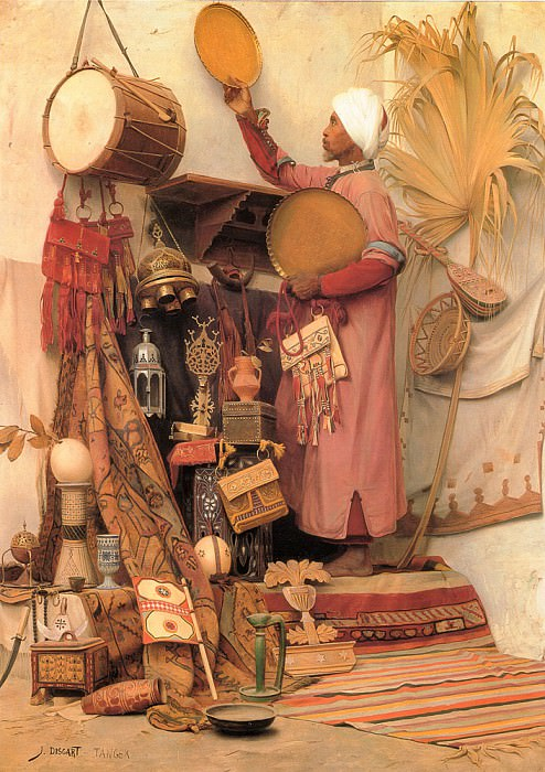 The Curiosity Dealer. French artists