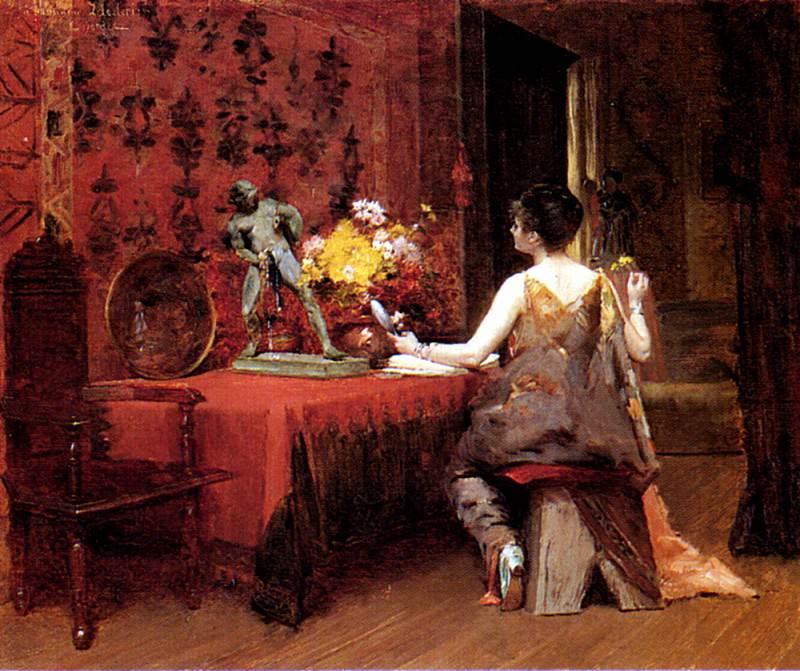 Borden E Shirley Vanity. French artists