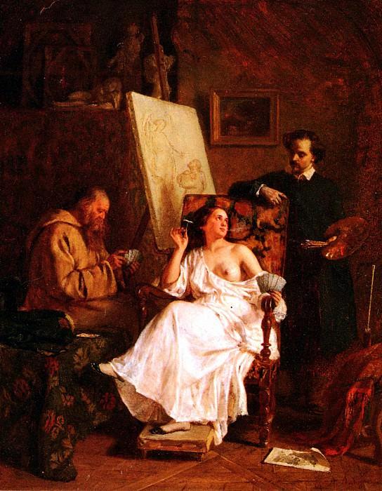 Antingna Alexandre Scene D - Atelier. French artists