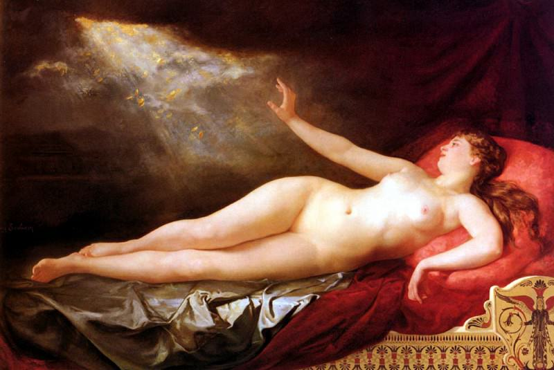 Soubiran Eugene Danae Sous Londee Dor. French artists