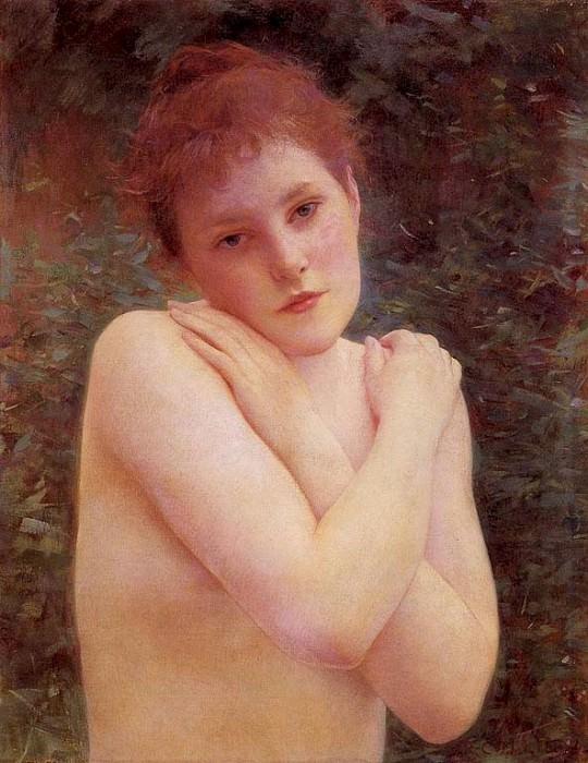 Коллен, Рафаэль - Обнажённая. Французские художники