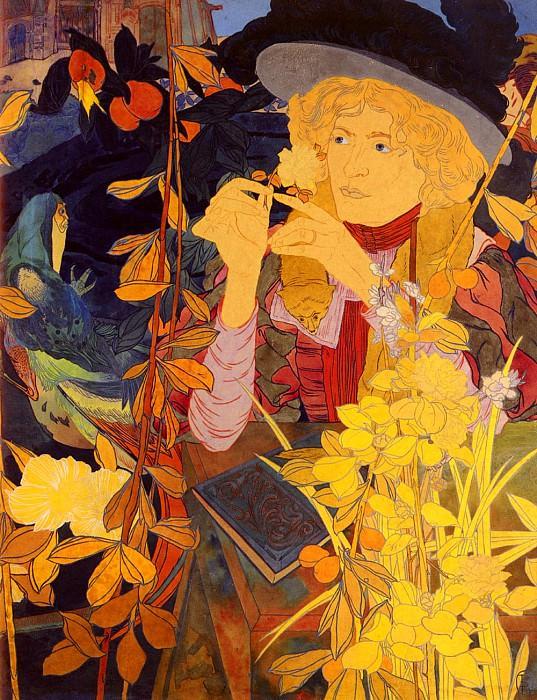 Feure Georges de La Botaniste. French artists