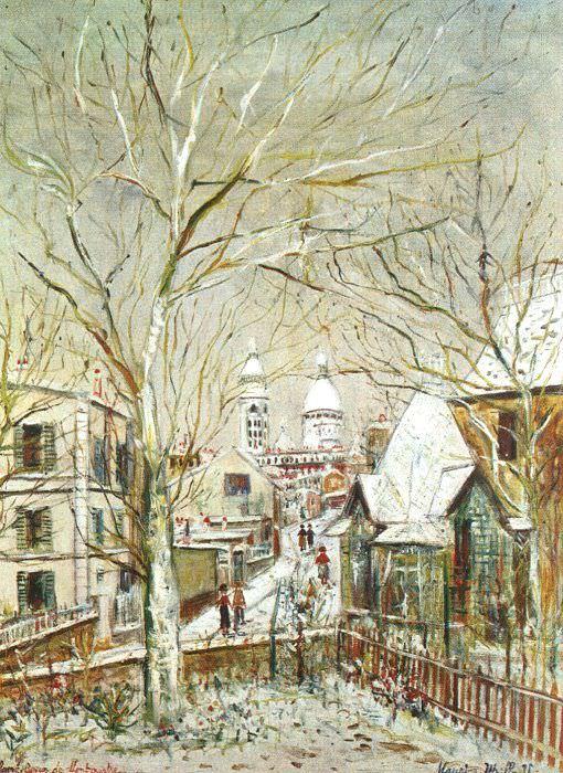 Утрилло, Морис (1883-1955). Французские художники